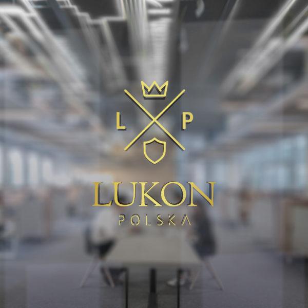 Projekt logo Lukon Polska