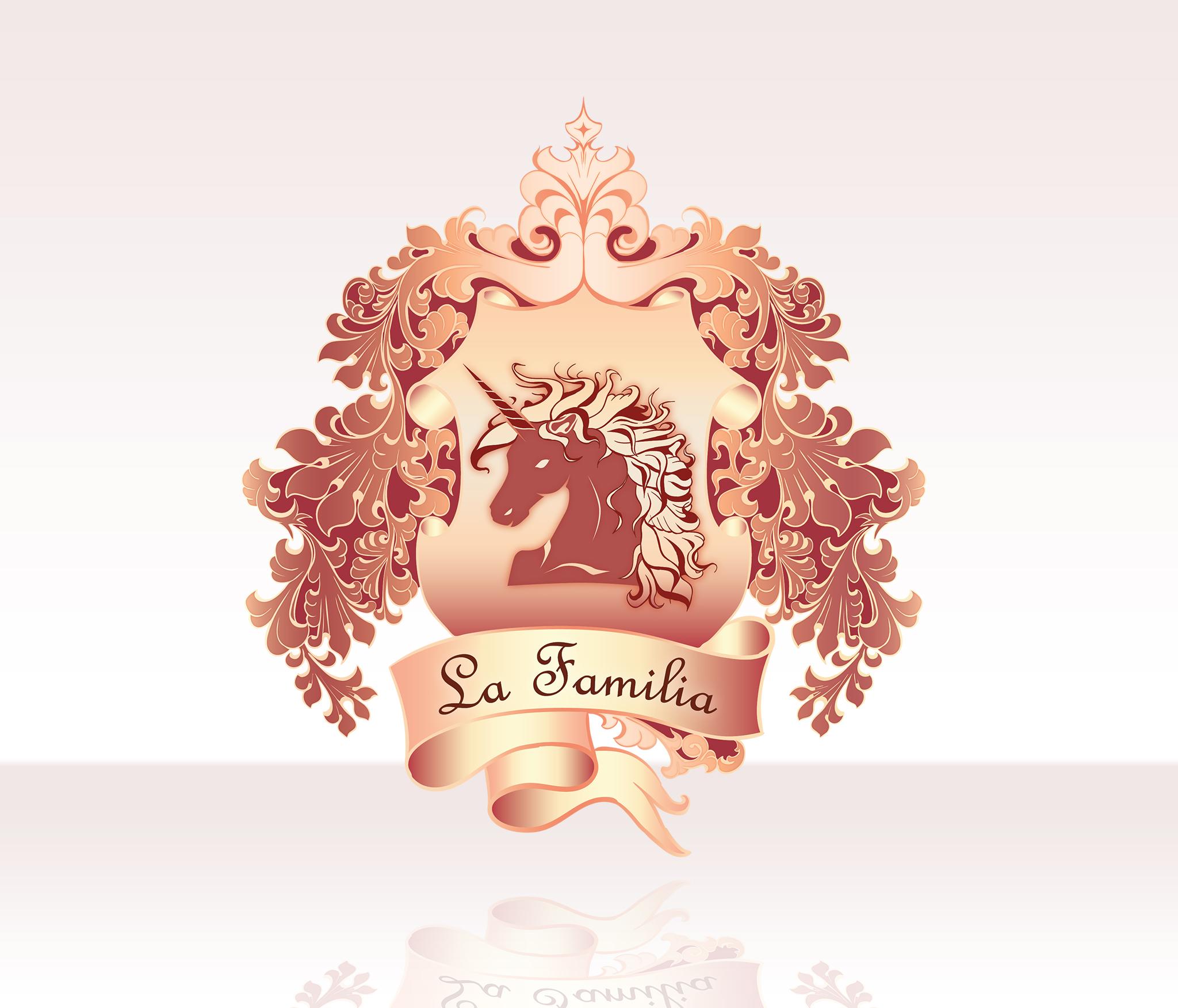 Projekt logo La Familia