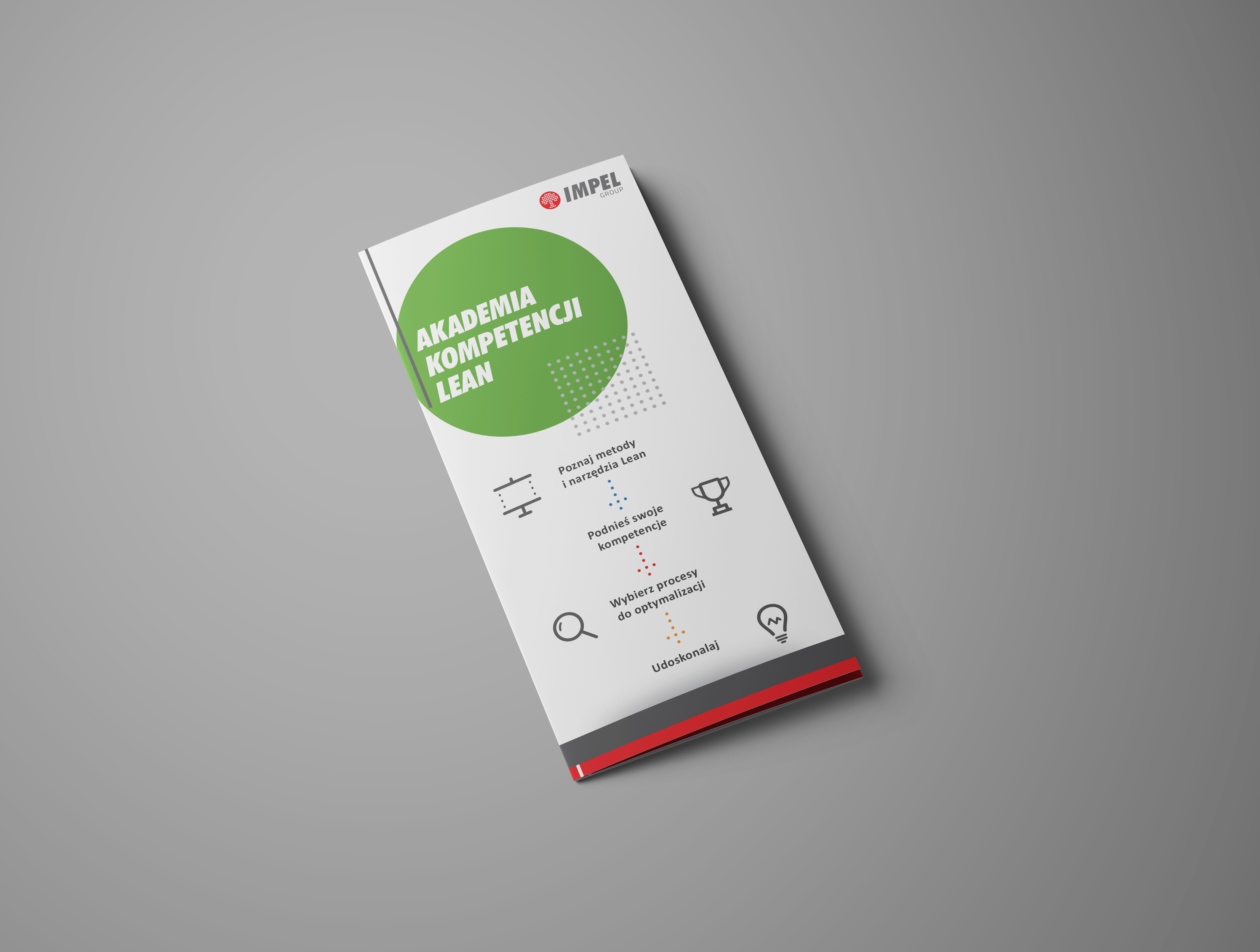 Projekt broszury Akademia kompetencji lean
