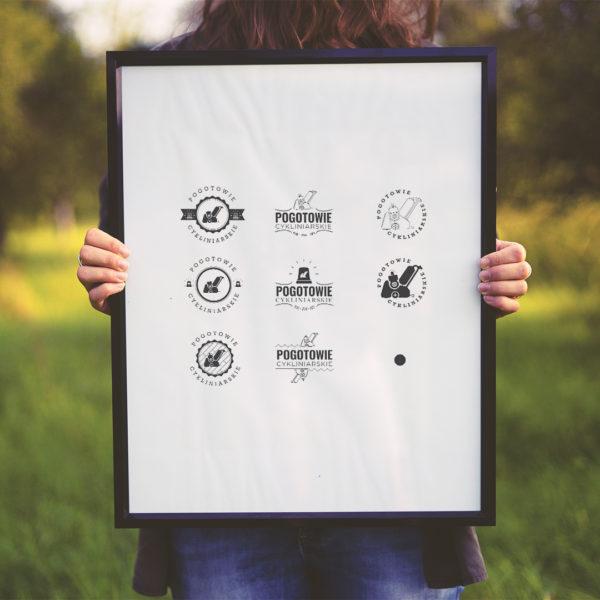 Projekt logo Pogotowie Cykliniarskie
