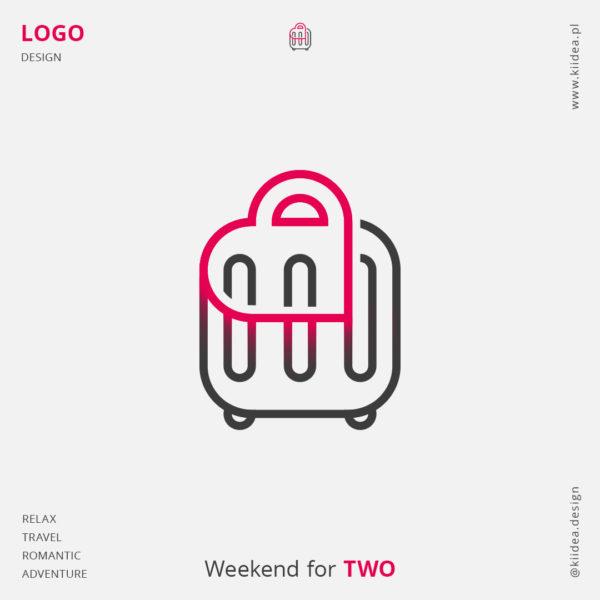 Projekt logo dla Weekend dla Dwojga